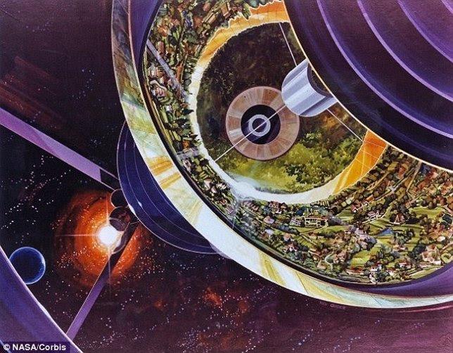 Ciudades en la órbita terrestre