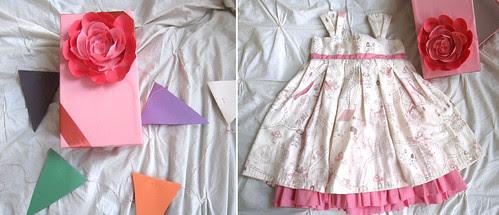 daria souvorova, sweet daria's, handmade dress for lola