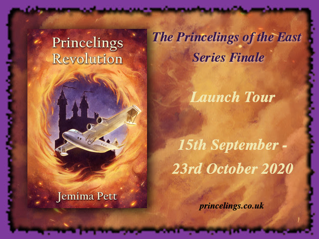 Badge for the Princelings Revolution launch tour