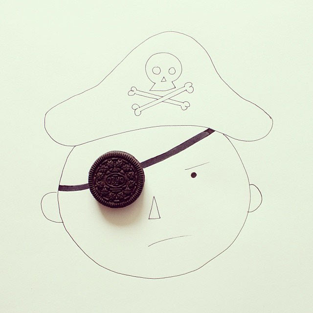 doodles that incorporate everday objects by javier perez cintascotch on instagram (2)