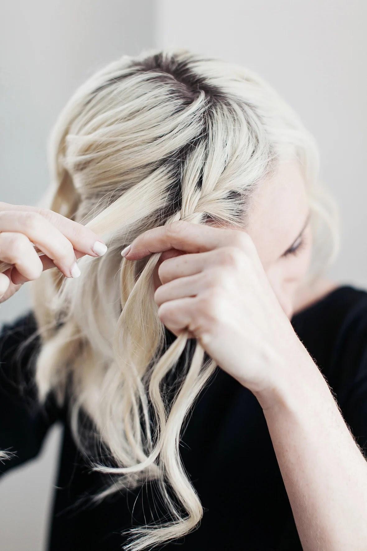 Locken Kurze Haare Anleitung Wie Haare Selber Flechten Mit Kurzen