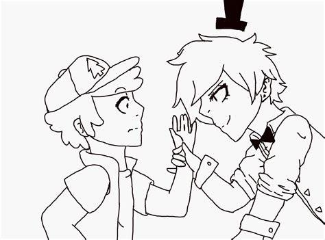 bill cipher  art  anime speedpaint drawing