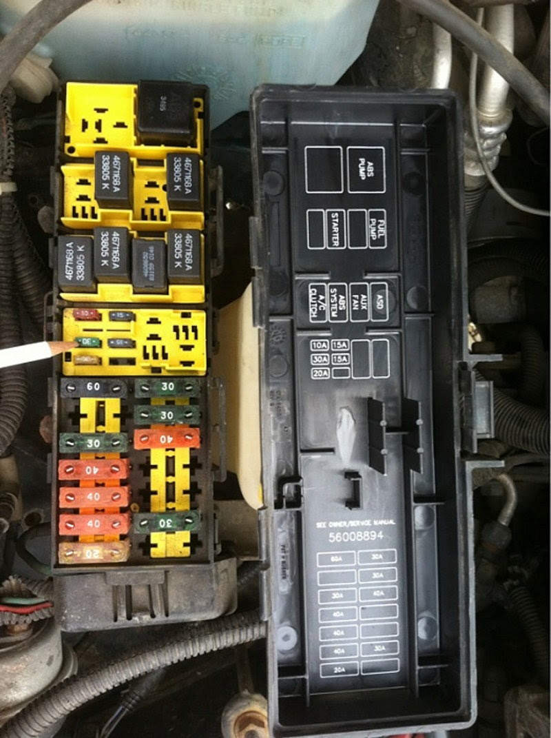 Jeep Grand Cherokee ZJ WJ 1993 to 2004 Why is Battery ...