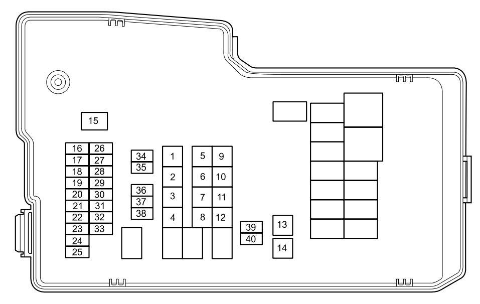 Mazda 5 2012 2013 Fuse Box Diagram Auto Genius