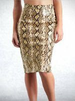 Guess by Marciano Liquid Python Skirt