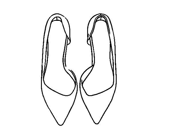 Come Disegnare Una Scarpa Migliori Pagine Da Colorare