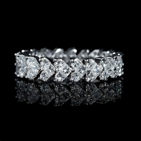 1.94ct Diamond 18k White Gold Eternity Wedding Band Ring
