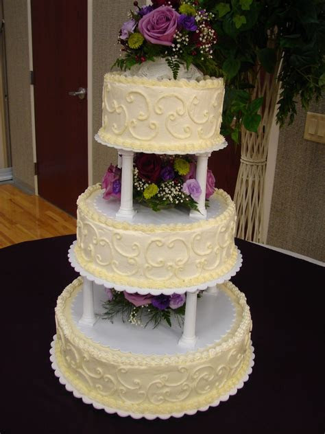 walmart  tier wedding cakes   tiers