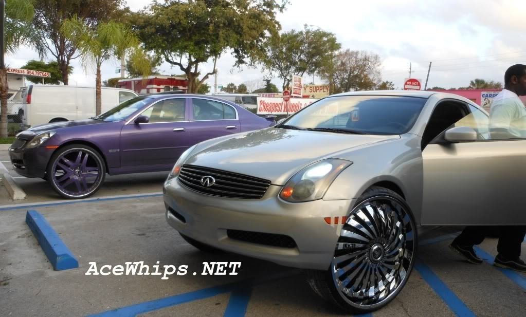 Ace 1 Infiniti G35 On 26 Quot Vizzo Forgiatos N Infiniti G35