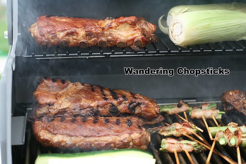 Grilled Coca Cola Fig Jam Ribs 1