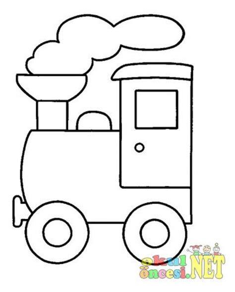 tren boyama sayfalari okul oencesi okul oencesi