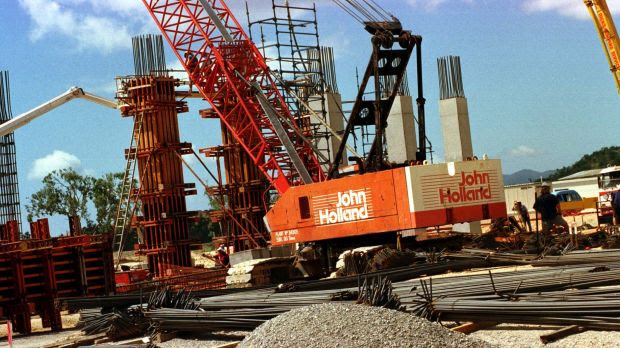 Image result for State-owned China Communications Construction Company has bought John Holland. Photo: Robert Rough