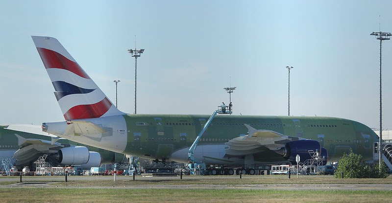BA's first A380 due in July '13 - to be<br> a common sight at Johannesburg