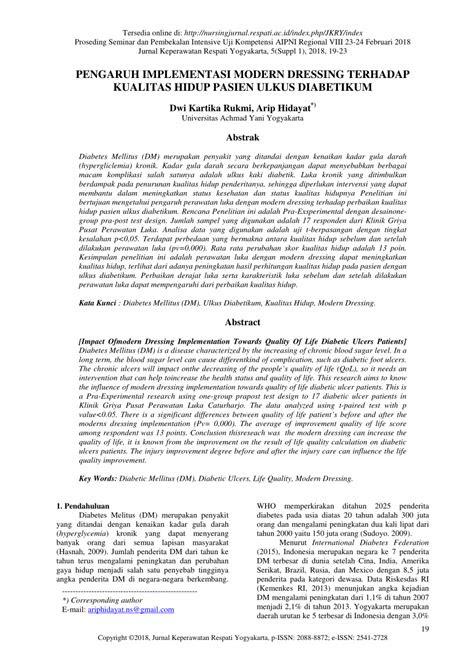 JURNAL ULKUS DIABETIK PDF
