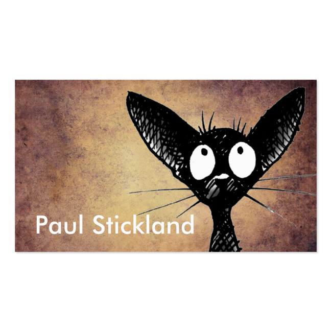Black Cat Business Card