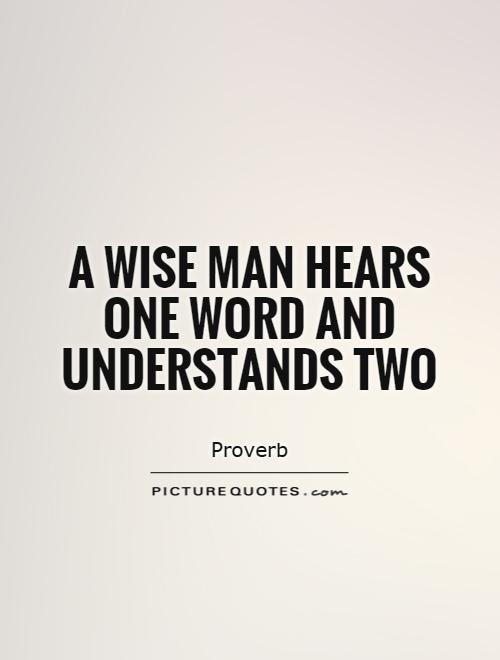 Quote Man Words
