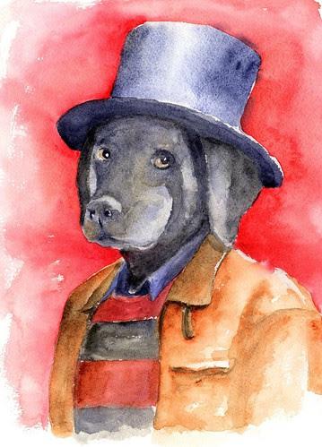 Dog Self-portrait