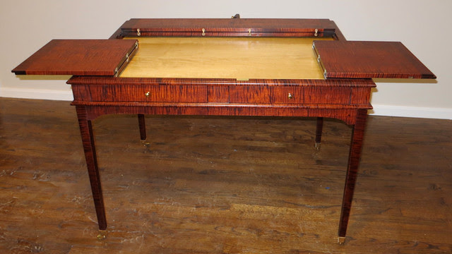 Puzzle Table - Traditional - new york - by Hazeltree Designs
