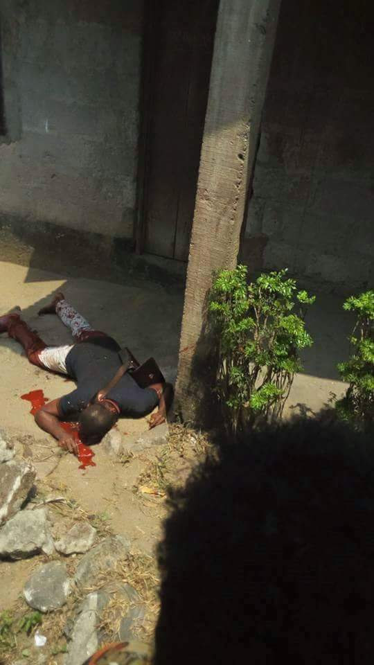 Arsenal Fan 'Boy-Yo' Murdered In Ogoni, Rivers State By Gunmen (Graphic Pics)
