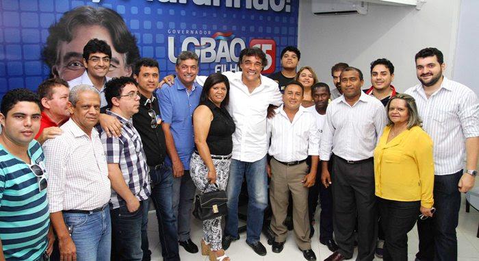 Foto Gilson Teixeira - Lobão Filho recebe lideranças Politicas de Sen. Alexandre Costa