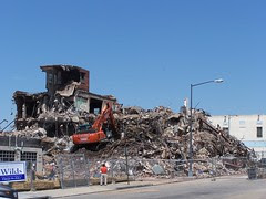 Demolition at 4th and Florida, NE
