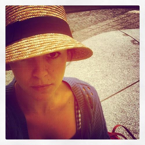 har hatt på mig idag
