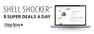 Shell Shocker - Get 5 Electrifying New Deals every weekday