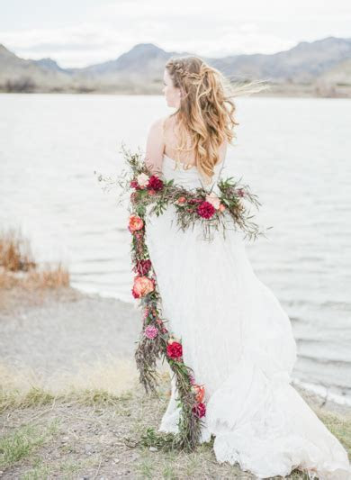 Montana Bohemian Bridal Session   Montana Wedding