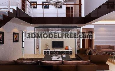 Luxury House 3d Model Download Free 3d Models Download