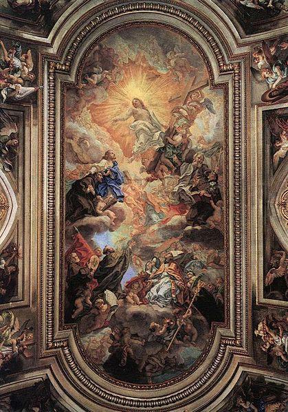 Fil: Baciccio - Apotheosis av Franciscan Order - WGA01109.jpg