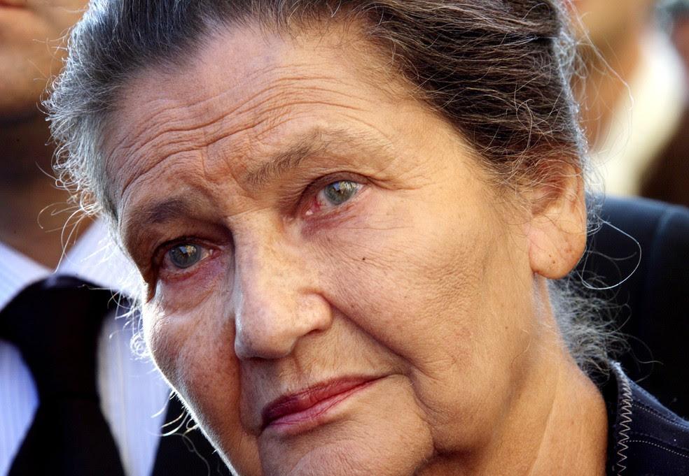 Simone Veil, em foto de arquivo de 16  de outubro de 2007 (Foto: AFP)