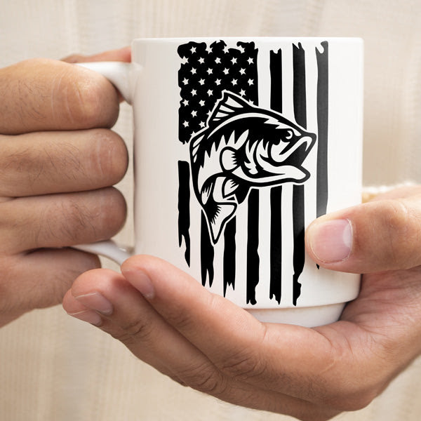 Download Fishing Distressed Usa Flag Svg American Flag Fishing Svg