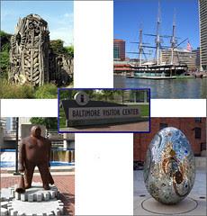 Baltimore collage