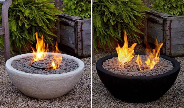 Outdoor Ventless Fire Bowl - modern - firepits - austin - by ...