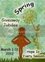 Spring Giveaway   Jubilee