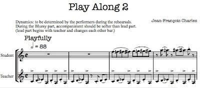 clarinet duet excerpt
