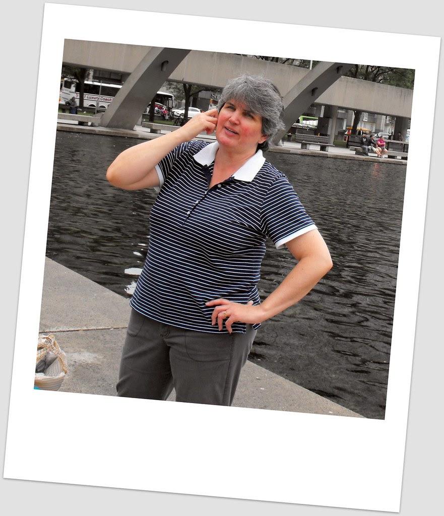 Mom polaroid