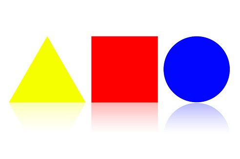 Bauhaus shapes