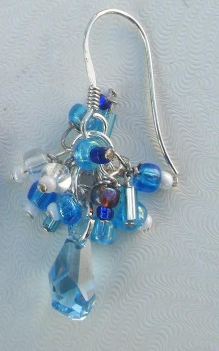 Calm Waters earrings