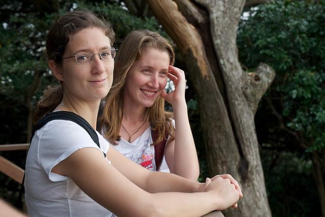 Lauren and Rusa