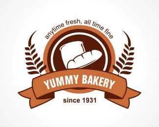 yummy bakery designed  ubrain brandcrowd