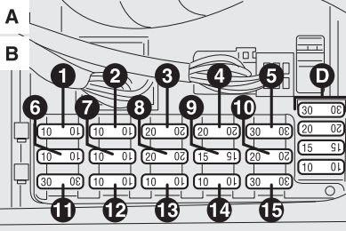 Alfa Romeo 156 2003 2006 Fuse Box Diagram Auto Genius
