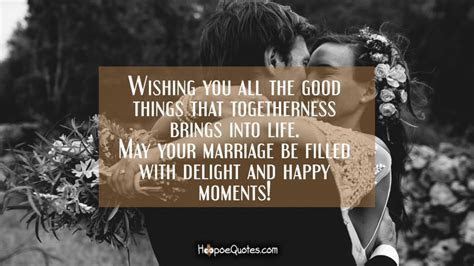 Wishing you all the good things that togetherness brings