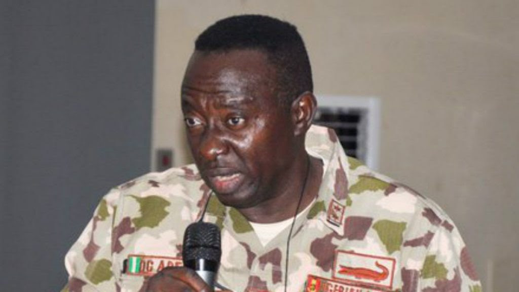 [VIDEO] Watch Moment Sacked Army Commander, General Adeniyi Lamented Troops Lacked Weapons To Defeat Boko Haram