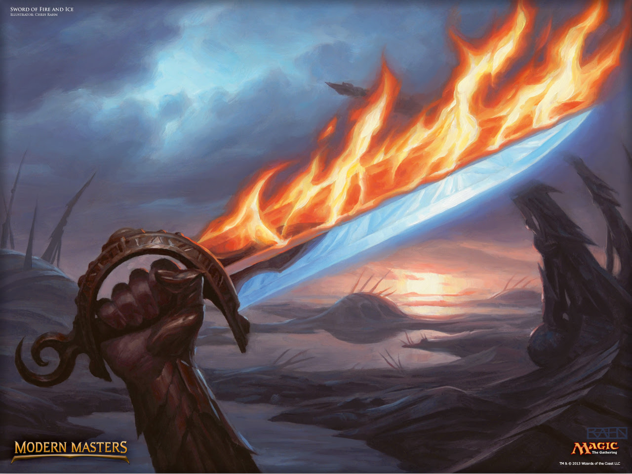 Wallpaper Of The Week Sword Of Fire And Ice Magic The Gathering