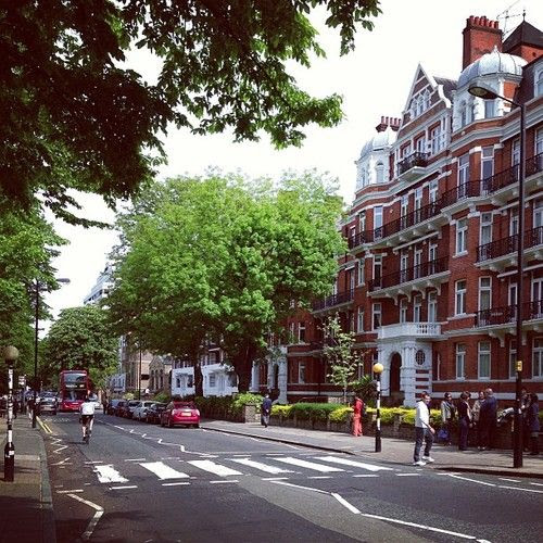 Iconic Abbey Road.  I cannot wait to walk those infamous footsteps.
