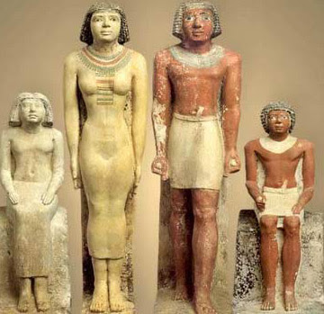 The Family of Neferherenptah from the Mastaba of Neferherenptah at Giza