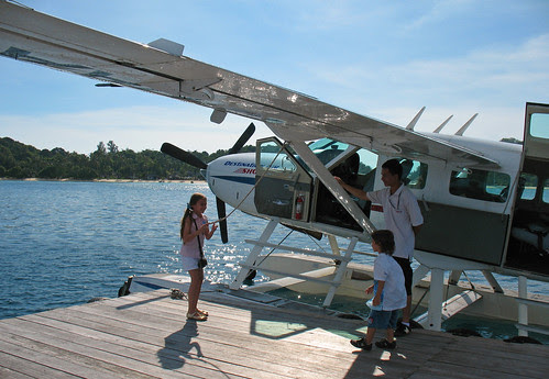 Seaplane at Phi Phi Island