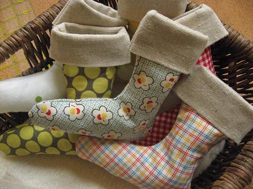 basket of stockings