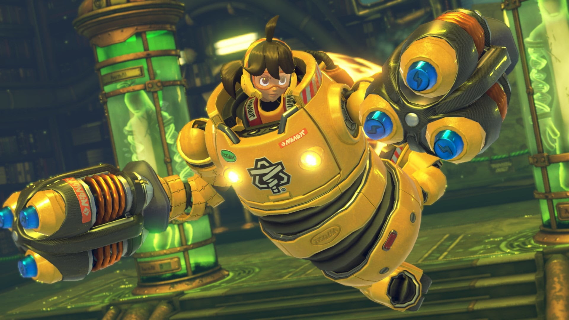Arms only takes up 2.2GB on Switch, which is somehow much less than NBA Playgrounds screenshot